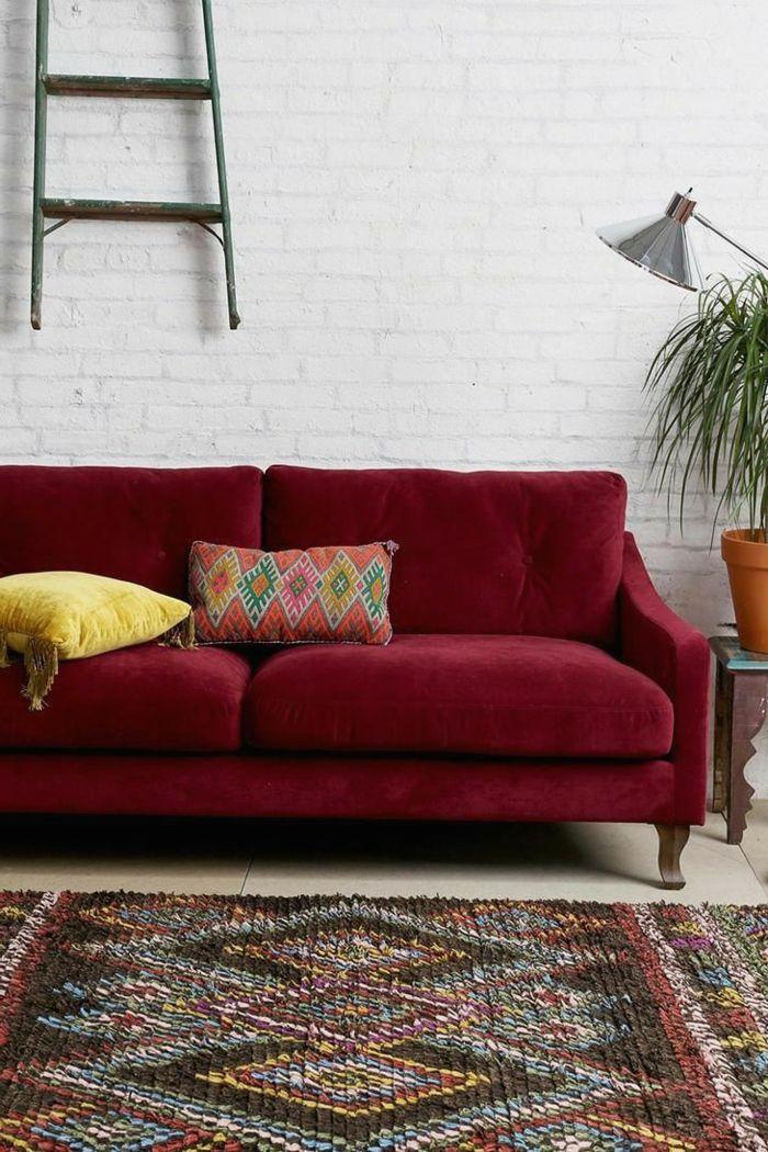 1001 Ideen Zum Thema Welche Farbe Passt Zu Rot Wandgestaltung