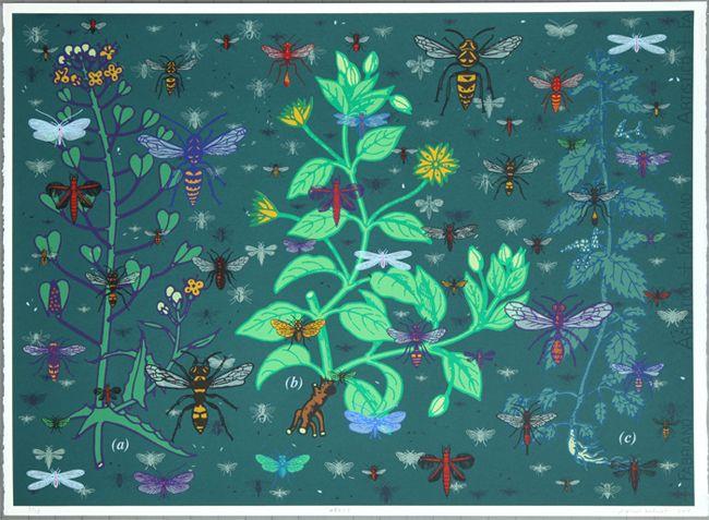 Weeds by John Dilnot  http://www.sandersofoxford.com/images/stock/32770.jpg