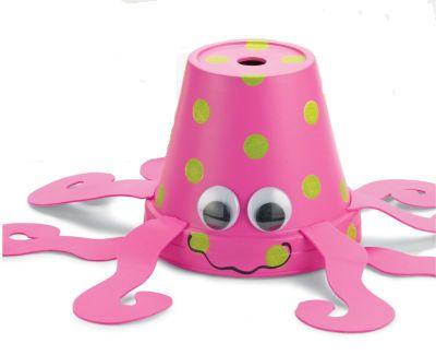Clay Pot Octopus