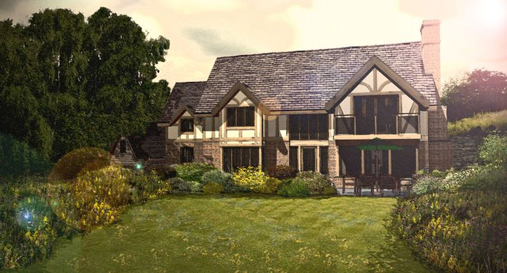 traditional features for a new build in mid Wales, being constructed in 2013