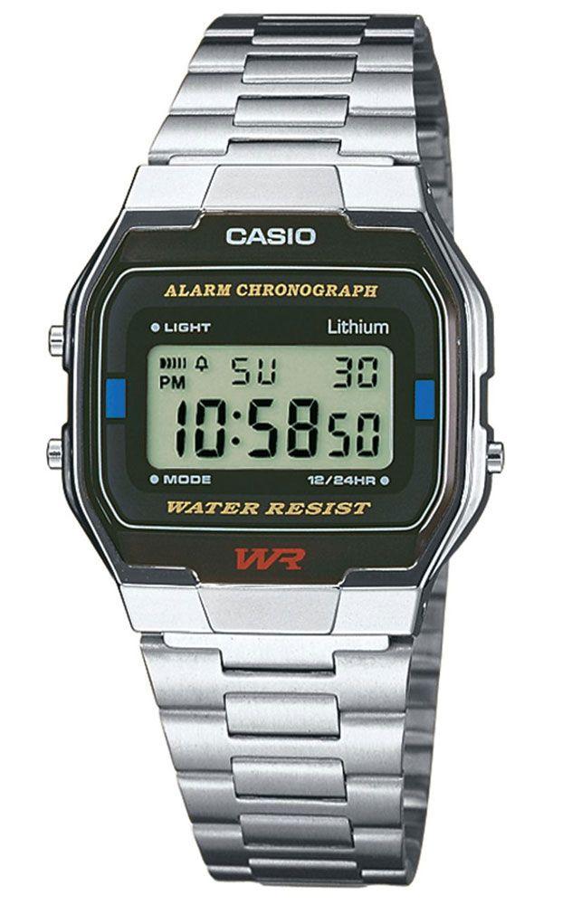 Reloj Casio cronógrafo hombre A163WA-1QES