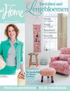 Cover styling Linda van der Ham, Photographer Alan Jensen, ariadne at Home magazine, Sanoma media, Netherlands