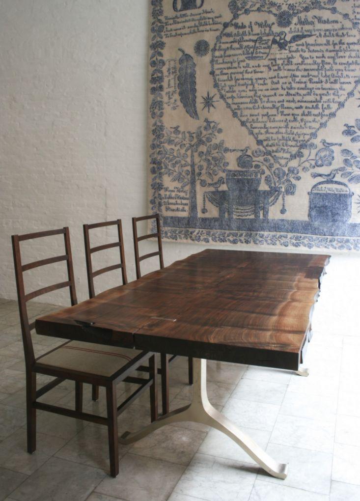BDDW Walnut Slab Dining Table | Remodelista