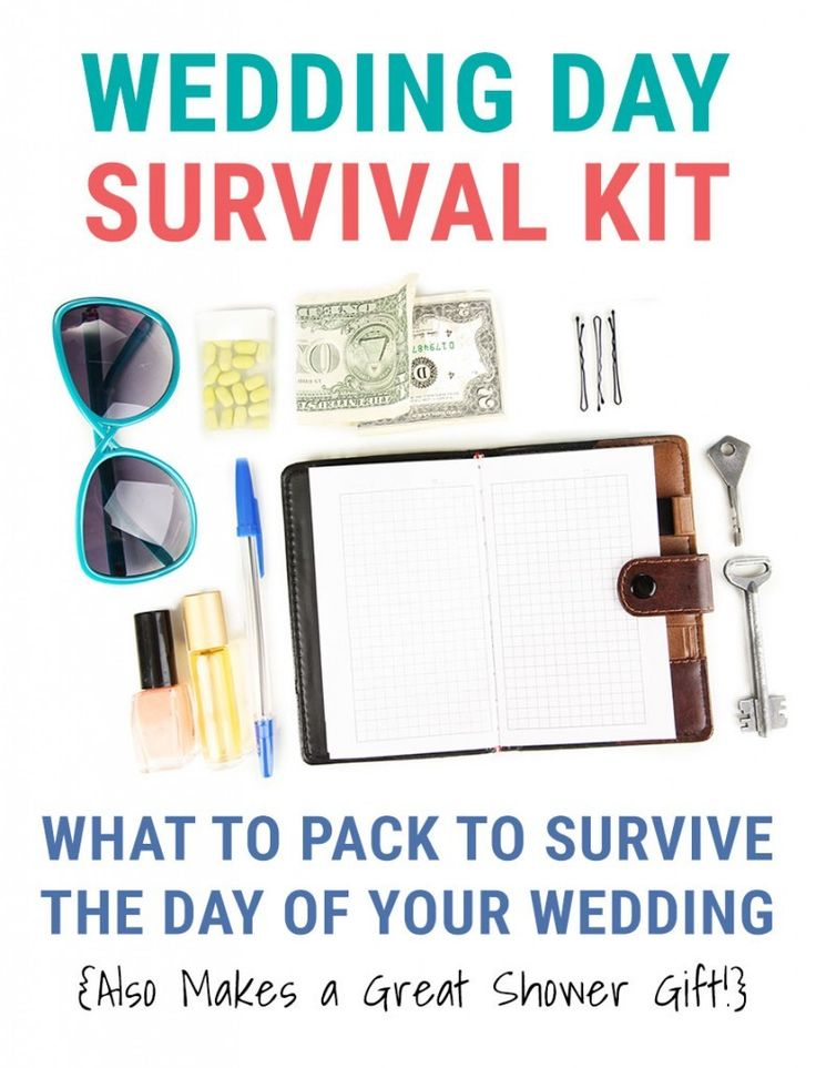 Bridal Emergency Kit {The Ultimate List of Must-Haves on Your Wedding Day}