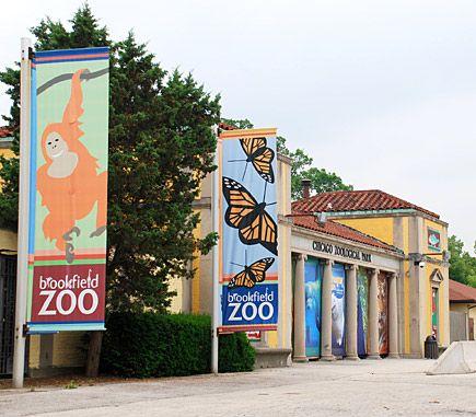 The Brookfield Zoo, Brookfield, Illinois