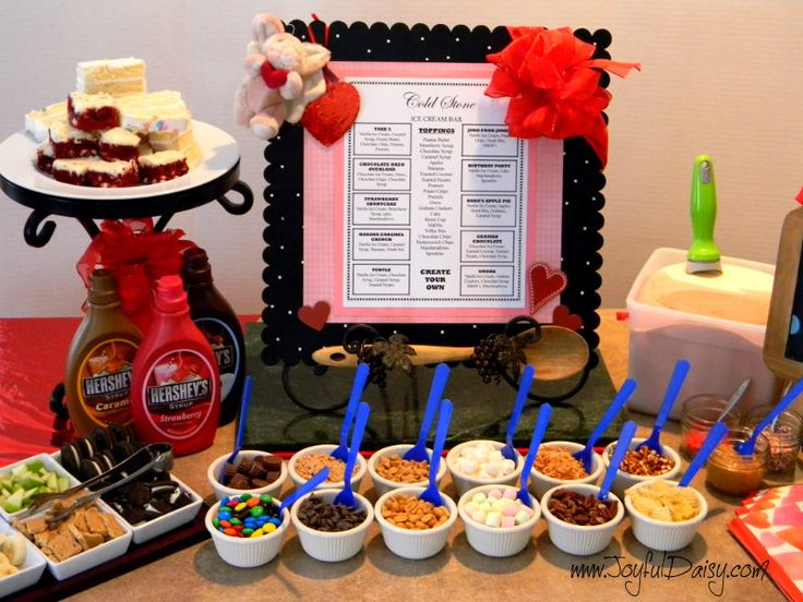Cold Stone Ice Cream Party, check this out for your next get together.  We even have a printable menu to inspire you:)