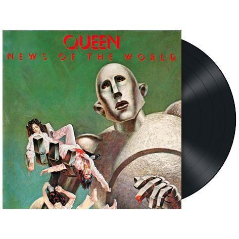 """L'album dei #Queen intitolato """"News Of The World"""" in edizione limitata rimasterizzata su vinile nero 180 gr."""