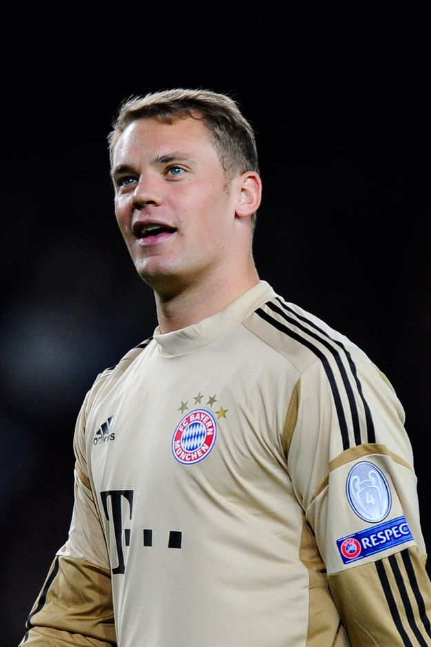 To start off, the Germans have this babe-faced hunklet named Manuel Neuer. | 54 Reasons The German World Cup Team Might Actually Be The Hottest World Cup Team <----- HELL YEAH