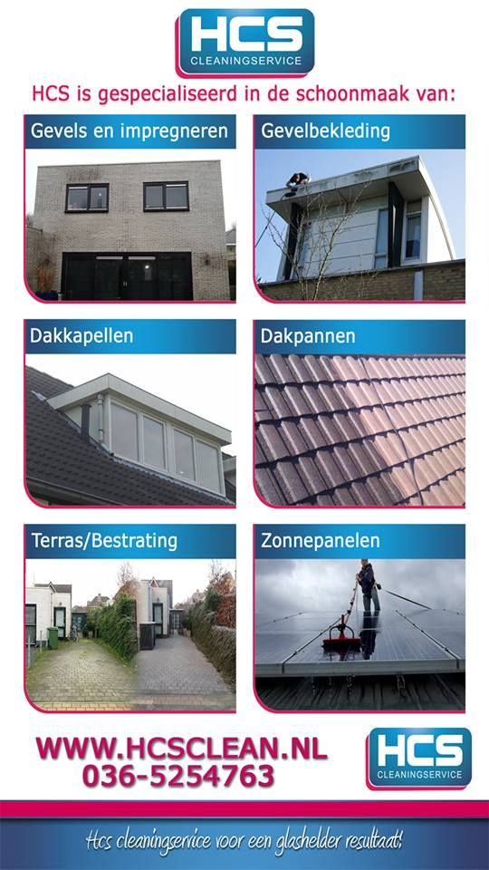 HCS Cleaning Service voor een glashelder resultaat! 036-5254763, www.hcsclean.nl pinned with Pinvolve - pinvolve.co