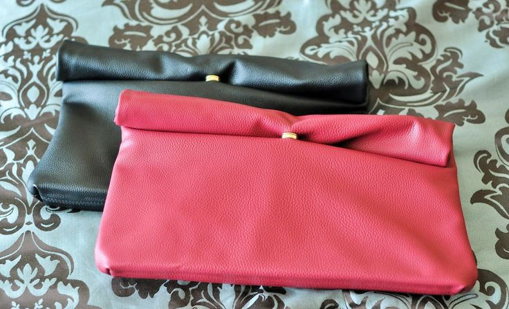 The perfect fold-over clutches for dress up or casual!  From Stylenanda