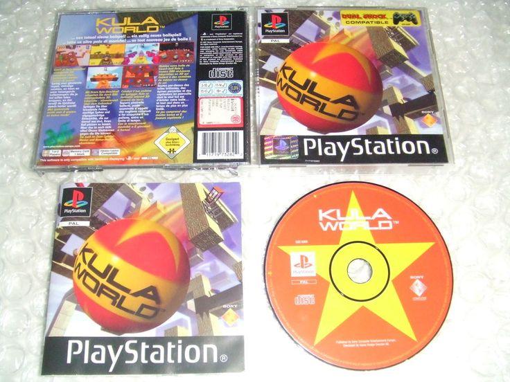 KULA WORLD - PS1 ps2 ps3 playstation - ITALIANO - INTROVABILE!!!