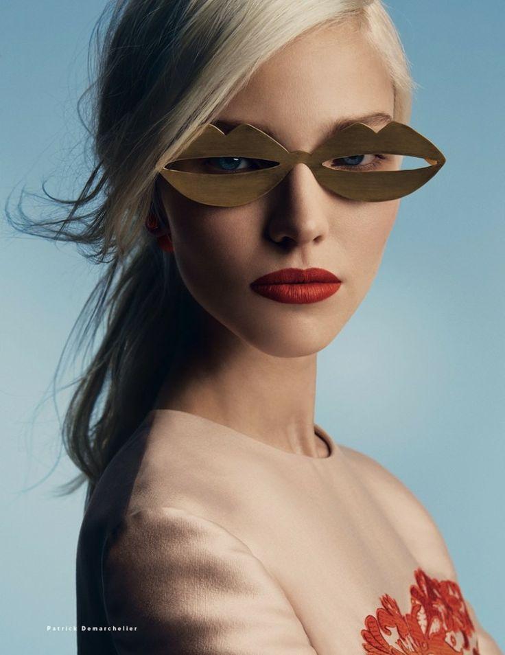 Vogue Rússia Janeiro 2014.