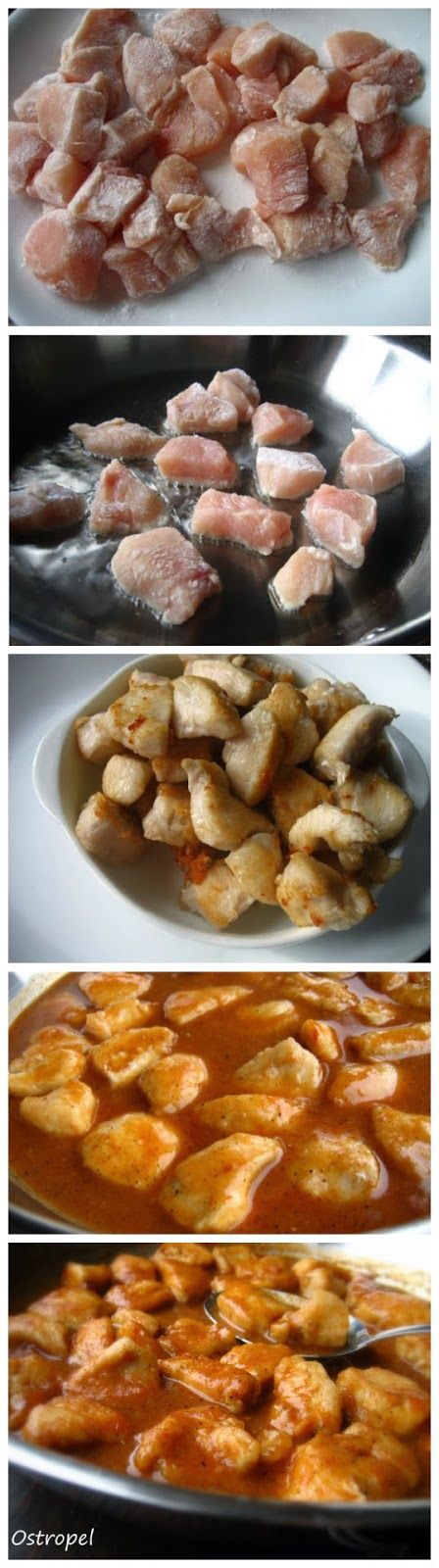 Romanian Ostropel...Chicken with Garlicky Tomato Gravy - Truelifekitchen