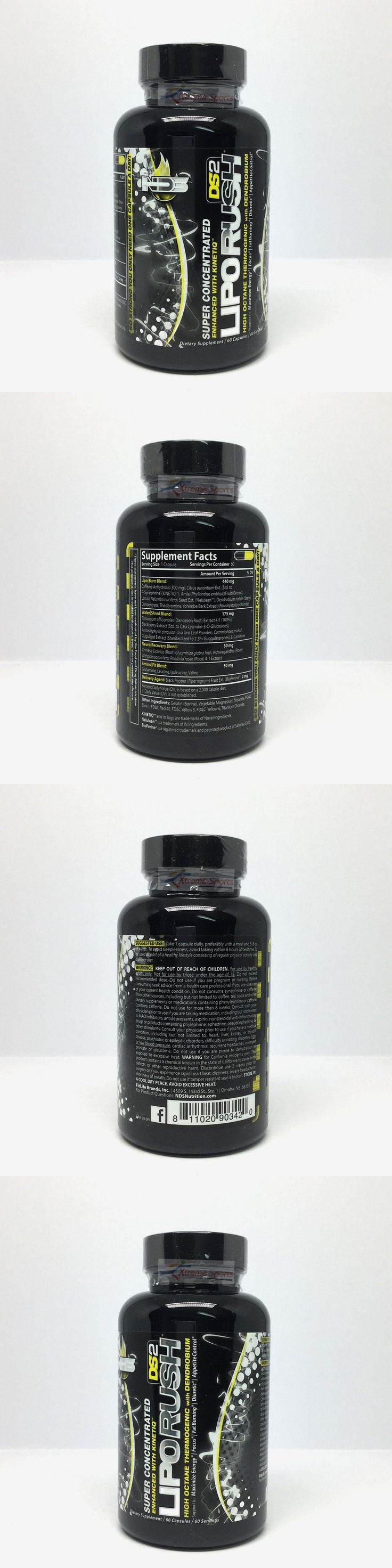 Health And Fitness: Nds Nutrition Liporush Ds2 Thermogenic Fat Burner Weight Loss 60 Caps Free Ship -> BUY IT NOW ONLY: $33.95 on eBay!