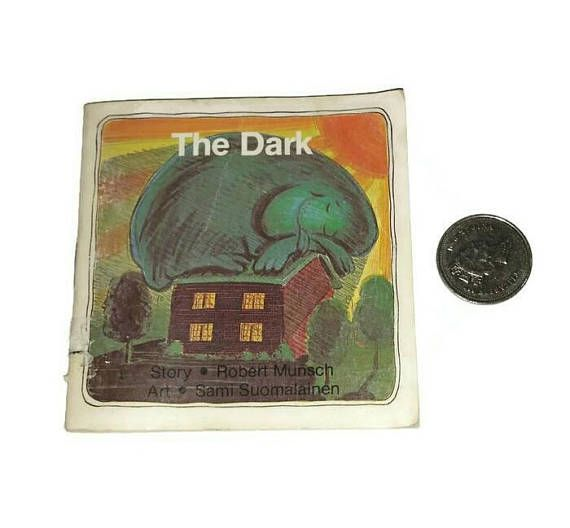 Check out this item in my Etsy shop https://www.etsy.com/ca/listing/547236460/the-dark-book-robert-munsch-80s-90s
