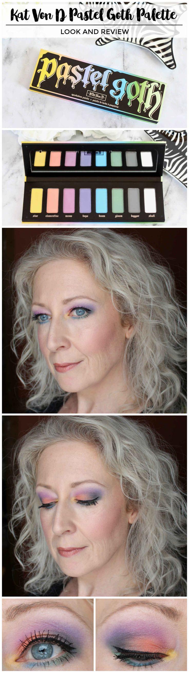 Kat Von D Pastel Goth Eyeshadow Palette Review