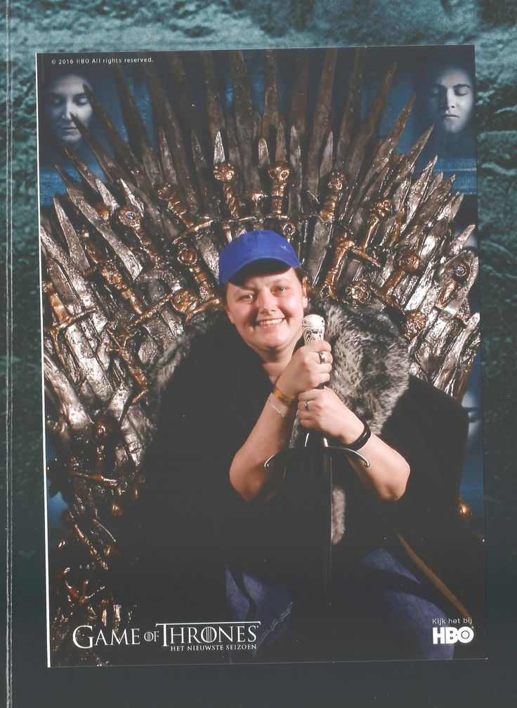 We love Game of thrones! Picture made at Dutch Comic Con: Overview 2016