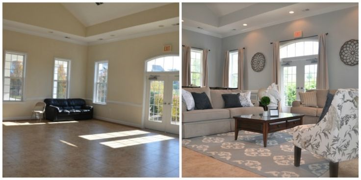Spaces to Inspire, before and after room