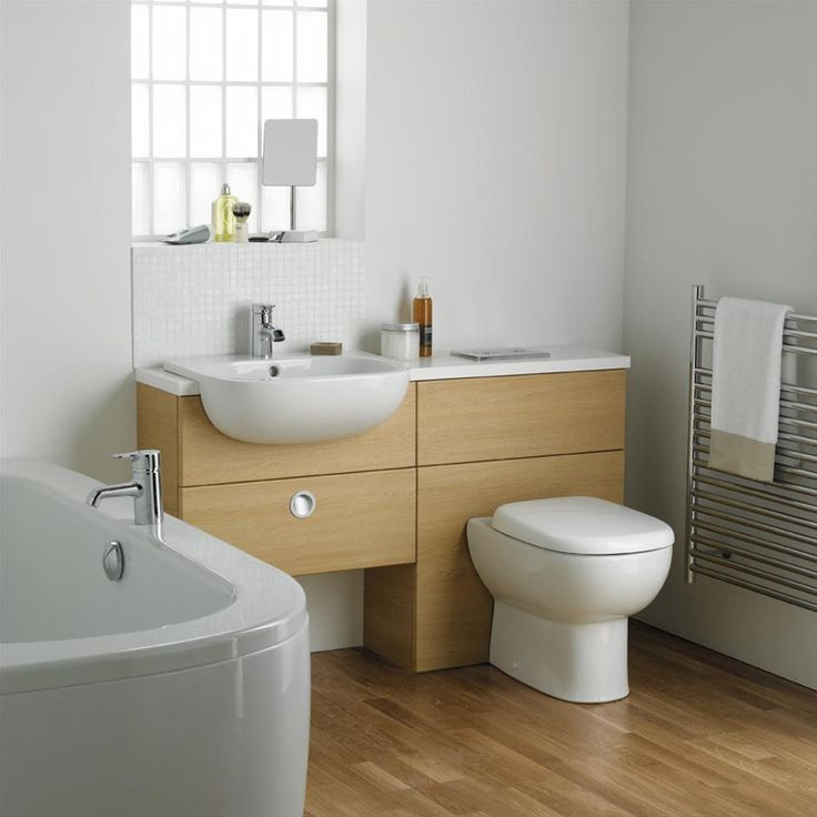1000 ideas about fitted bathroom furniture on pinterest for Small fitted bathroom ideas