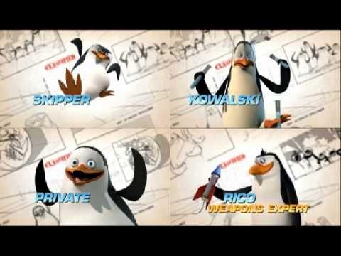 Pingwiny z Madagaskaru - Wszystkie piosenki! (Prawie...) - YouTube