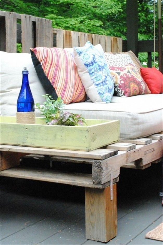 Furniture DIY Pallet Wood Outdoor Sofa Also Beauty Cushions Stunning Wooden Pallet  Couch Ideas
