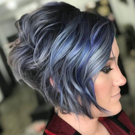 trendy haircut short thin stacked bobs 38 ideas in 2020