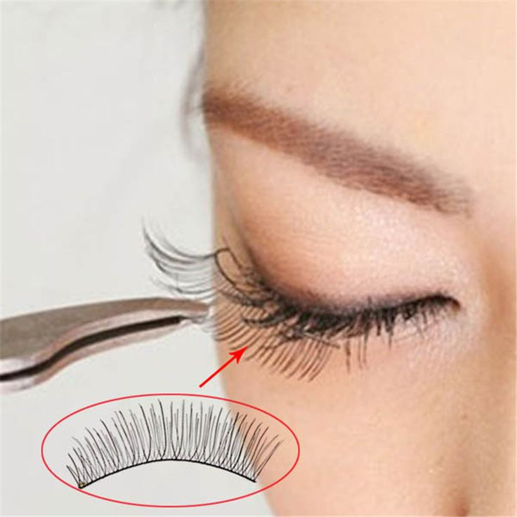 10 Pairs Natural Curl False Eye Lashes Eyelashes Handmade Wispy Makeup Fake Long Eyelash  TU2