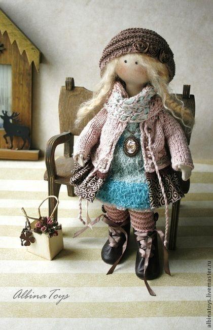 Мей. Бохо стиль. - бежевый,бледно-розовый,кукла ручной работы,ангел,бохо