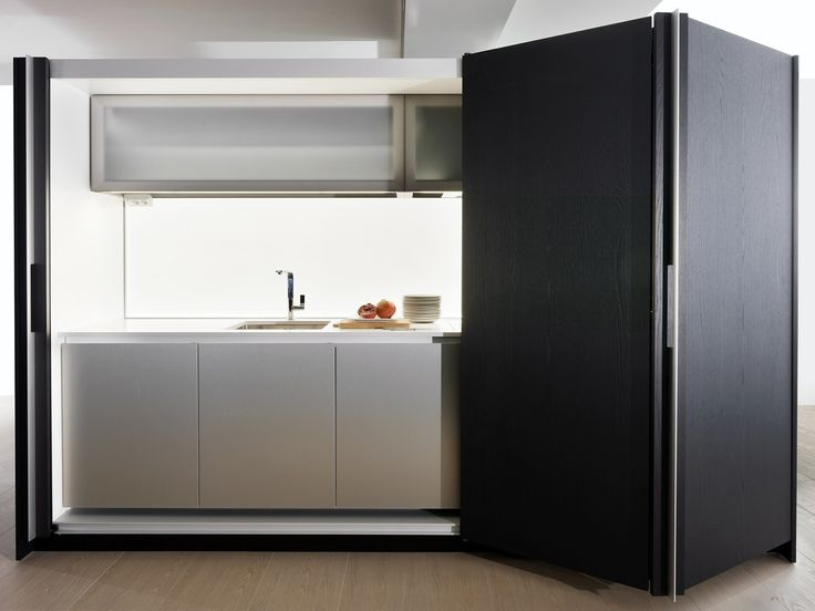 Hideaway linear kitchen TIVALÌ by DADA / design Dante Bonuccelli
