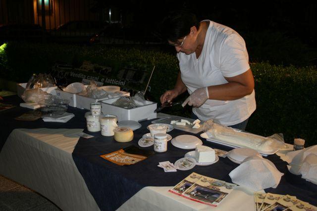 La serata dedicata ai formaggi salentini