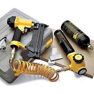 Unha portátil e Kit Gun Staple No compressor necessário, leve e eficaz