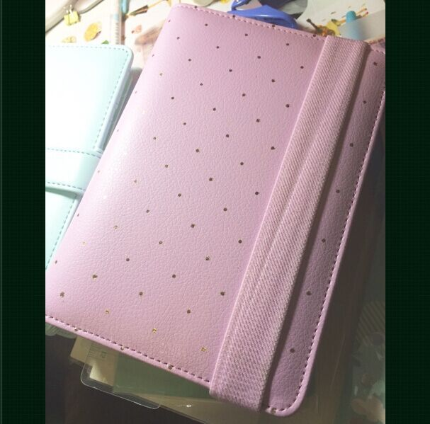 Lilac Dot Dokibook A5 $35