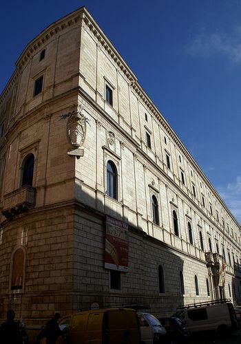 Rome, Piazza della Cancelleria, Palazzo della Cancelleria / Italy