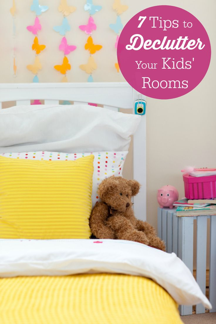 7 Tips To Declutter Your Kidsu0027 Rooms