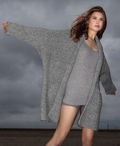 Lana Grossa JACKE Alta Moda Super Baby Jaspé - FILATI Handstrick No. 61 - Modell 10 | FILATI.cc WebShop