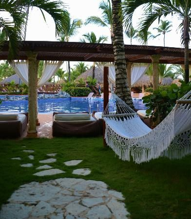 Excellence Punta Cana: View from our swim up room