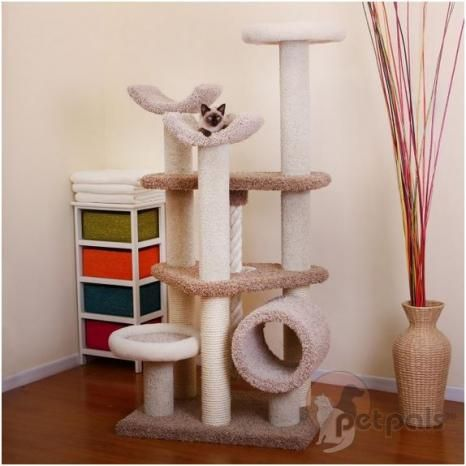 what cat wouldn t love a haven like this amazing everest cat tree it