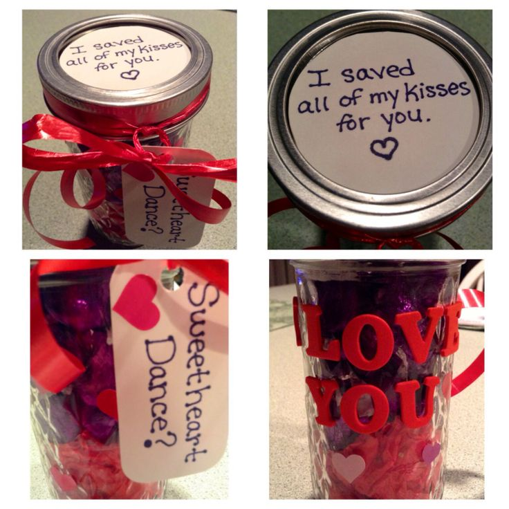 16 best cute ideas images on pinterest dance proposal boyfriend fill a jar with tissue paper and hershey kisses then add the tags and bow cute way to ask or answer for a dance ccuart Images
