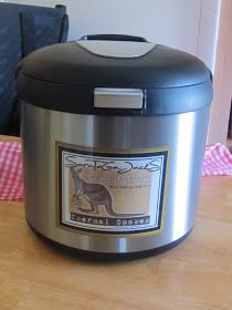 Recently I was made aware of a new type of  Thermal Cooker called the Saratoga Jack . In the past I've covered the thermal cooking...