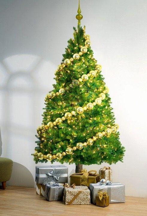 Wall Decor Christmas Tree : Christmas wall art tree sticker