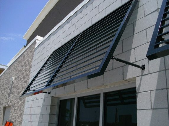 Fabric & Metal Awnings, Pioneer Awnings LLC Monticello, FL Louver Systems