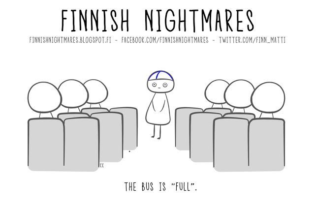 Finnish Nightmares: Where to go?