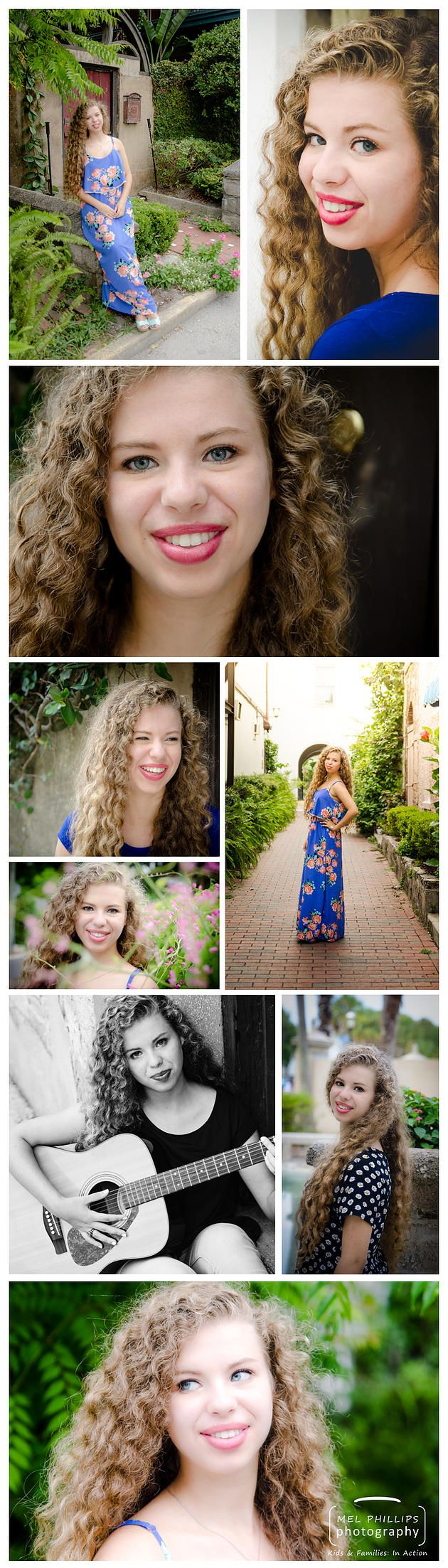 High School Senior Girls St Augustine  Jacksonville Family & Sports Photographer | Class of 2016: Monica, Creekside High School