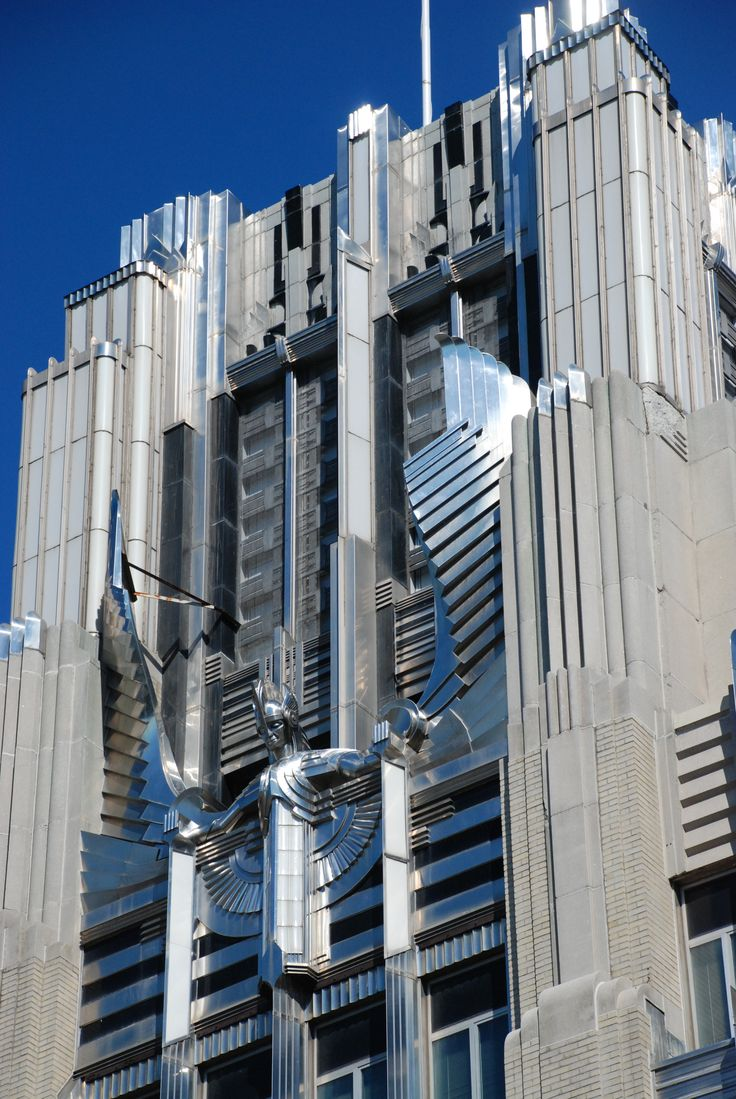 Art deco style architecture - Art Deco Niagara Mohawk Building Syracuse New York Melvin L King And Bley Lyman Architects Completed 1932