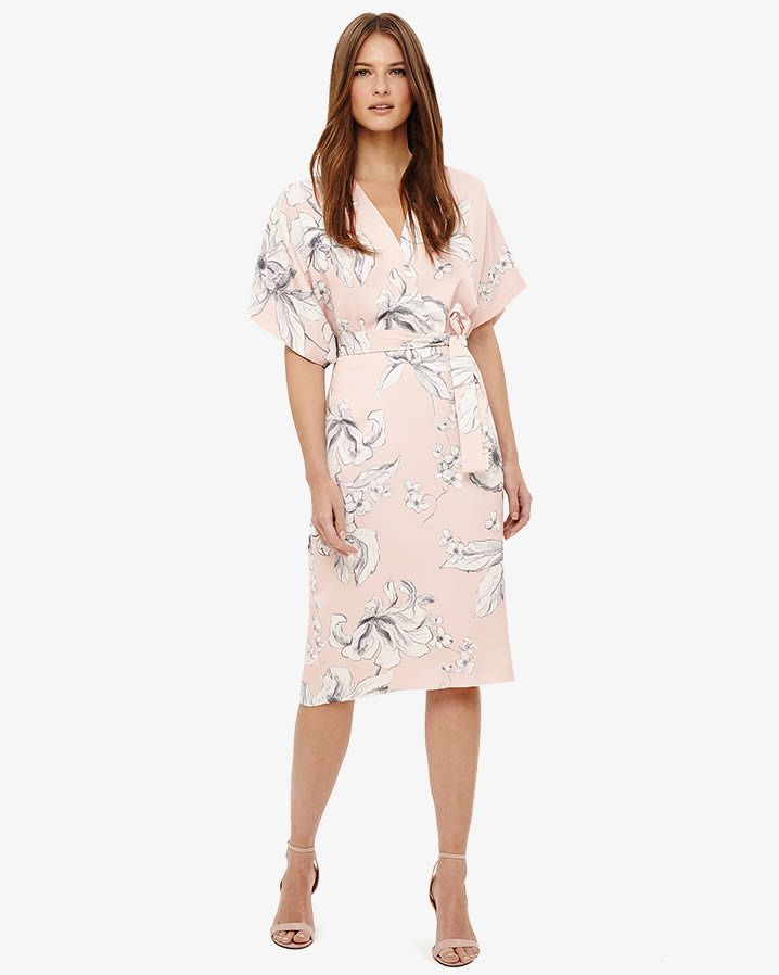 7285db1e1377 Phase Eight Paige Floral Dress Pink