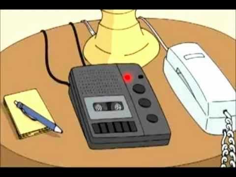 Alan Rickman's answering machine.
