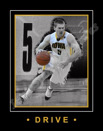 Matt Gatens (Guard) - Iowa Hawkeye Basketball 2010-2011