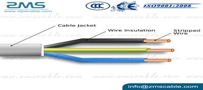 Thermosetting LSOH Insulated Non sheathed Single Core Cables - ZMS Cable