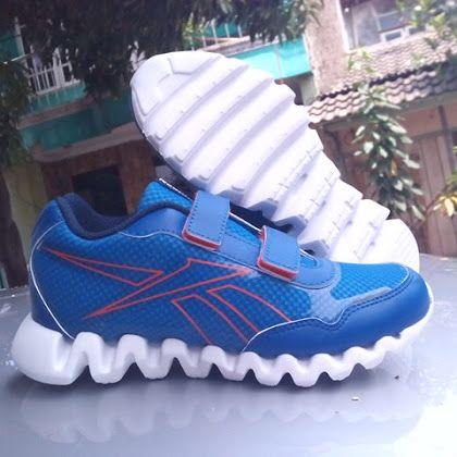 Sepatu KIDS REEBOK ZIGDASH 2V Blue Original
