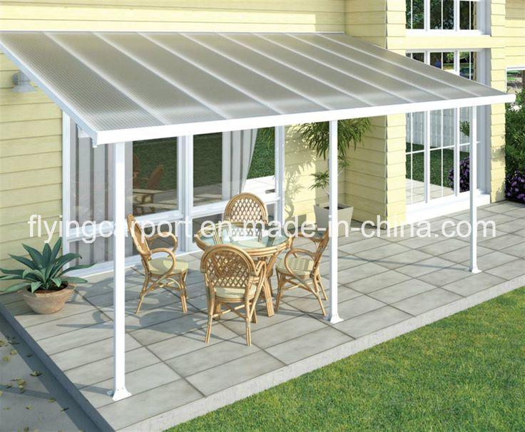 Durable DIY Polycarbonate Awning Plastic Roof Patio Canopy   China  Carports, Aluminium Carports | Made